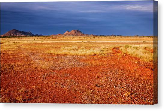 Somewhere In The Outback, Central Australia Canvas Print