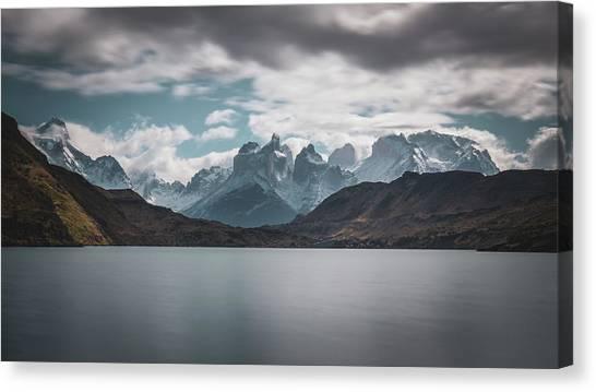 Somewhere Over The Mountain Range Canvas Print
