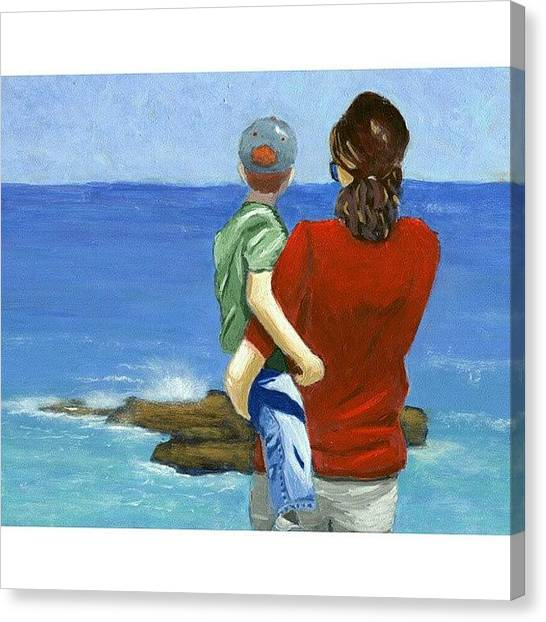 Seascapes Canvas Print - Son Of A by Karyn Robinson