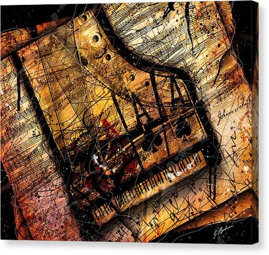 Sonata In Ace Minor Canvas Print