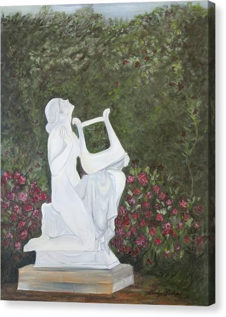 Sonata Canvas Print by Shirley Lawing