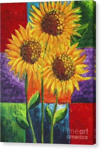 Sonflowers I Canvas Print