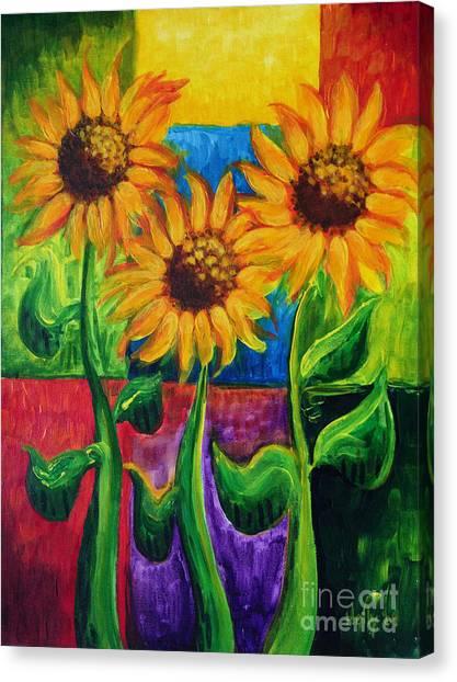 Sonflowers II Canvas Print