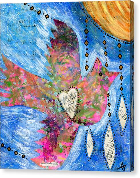 Kids Canvas Print - Songcatcher by Julia Ostara From Thrive True dot com
