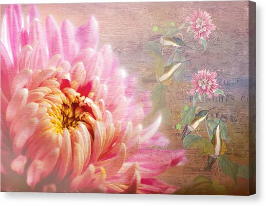 Texture Canvas Print - Songs Of Spring by Georgiana Romanovna