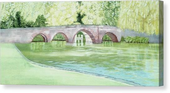Sonning Bridge  Canvas Print