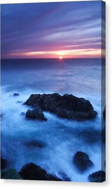 Sonoma Sunset Canvas Print by Eric Foltz