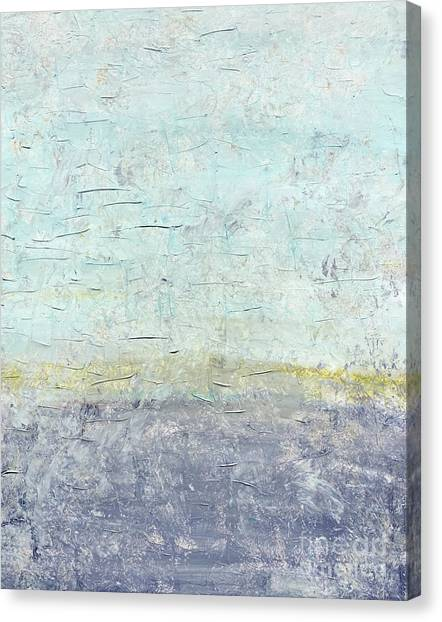 Sonoran Desert #3 Southwest Vertical Landscape Original Fine Art Acrylic On Canvas Canvas Print