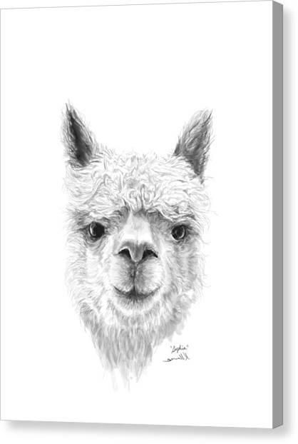 Canvas Print - Sophia by K Llamas