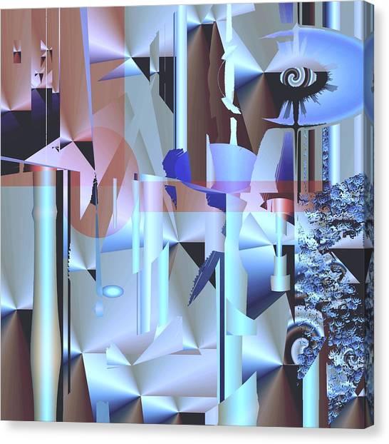 Sorbitol Canvas Print by Elsbeth Lane