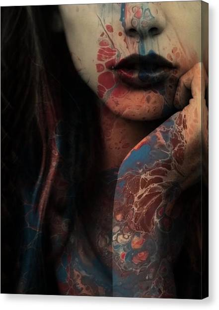Elton John Canvas Print - Sorry Seems To Be The Hardest Word  by Paul Lovering