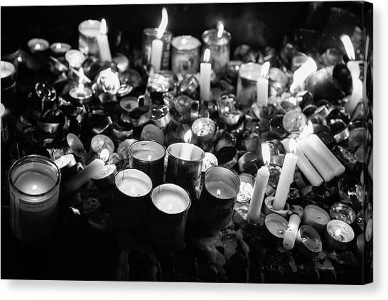 Soul Candles II Canvas Print