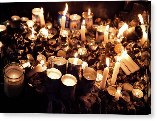Soul Candles Canvas Print