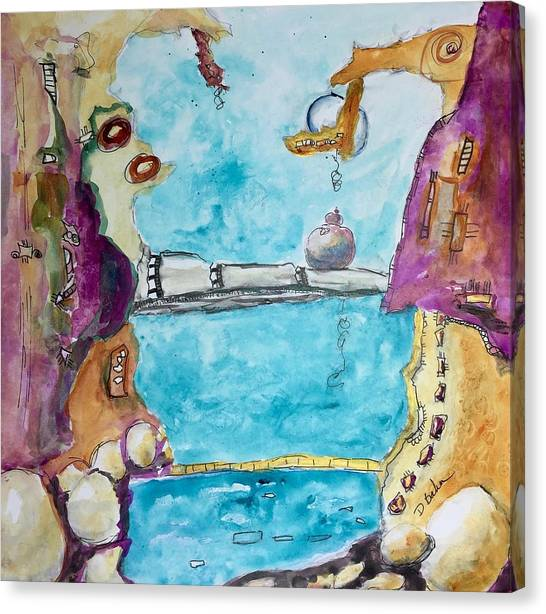 Canvas Print - Soul Connection by Dolores Baker