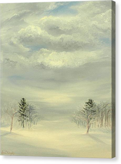 Soul Of Winter Canvas Print by Deserie Waryck