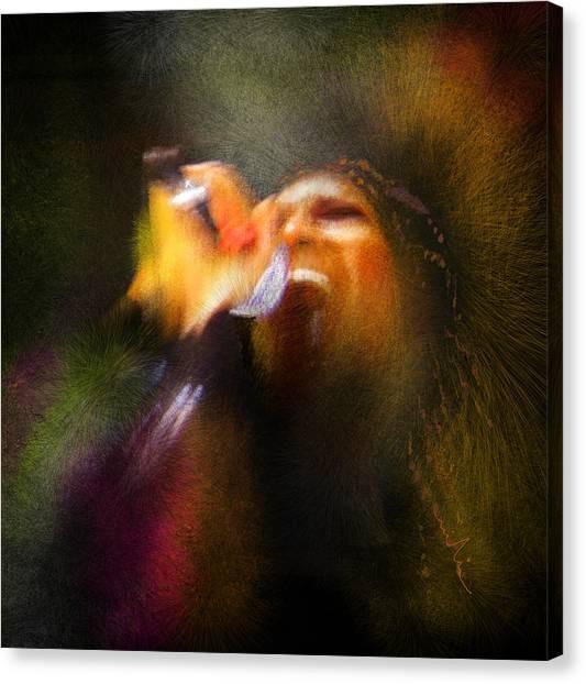 Elton John Canvas Print - Soul Scream by Miki De Goodaboom