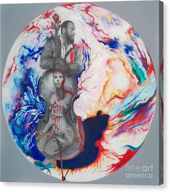 Blaa Kattproduksjoner             Soul Seduction Canvas Print