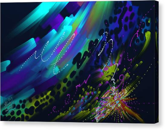 Soul So Blue Canvas Print