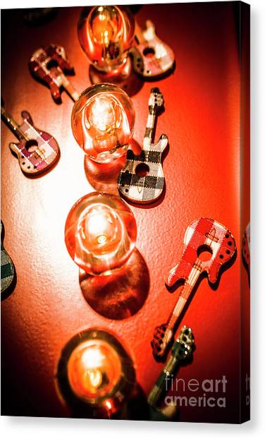 Rocker Canvas Print - Sound And Lights by Jorgo Photography - Wall Art Gallery