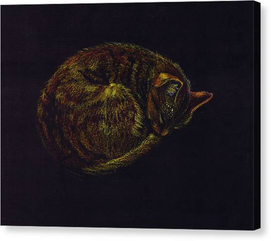 Sound Asleep II Canvas Print by Mui-Joo Wee