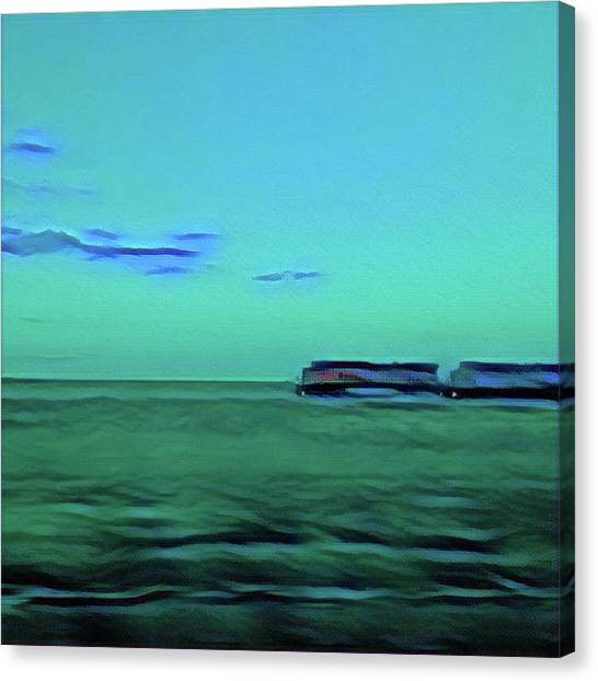 Sound Of A Train In The Distance Canvas Print