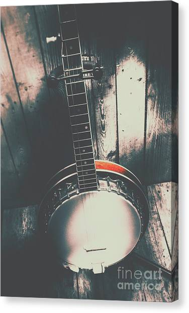 Stringed Instruments Canvas Print - Sound Of The West by Jorgo Photography - Wall Art Gallery