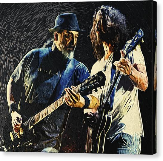 Pearl Jam Canvas Print - Soundgarden by Zapista