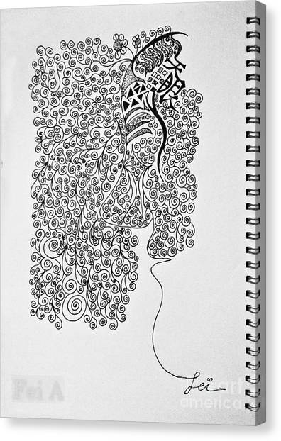 Soundless Whisper Canvas Print