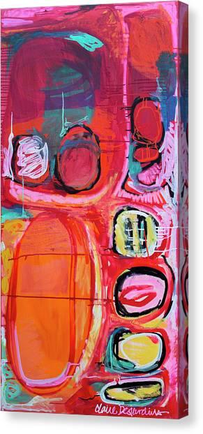 Canvas Print - Sounds Interesting by Claire Desjardins