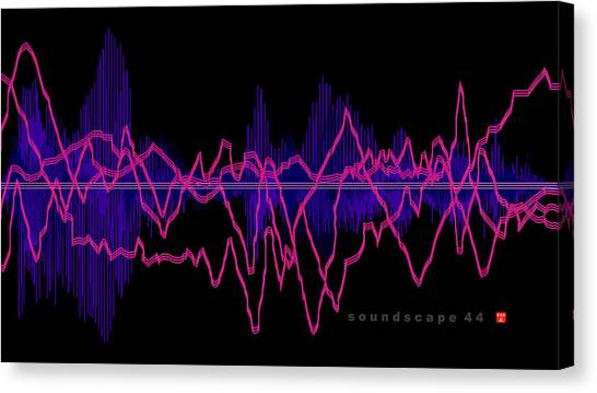 Soundscape 44 Canvas Print