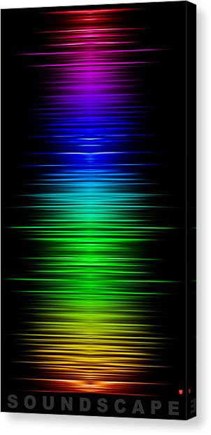 Soundscape 8 Canvas Print