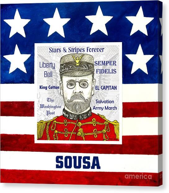 Sousa Canvas Print by Paul Helm