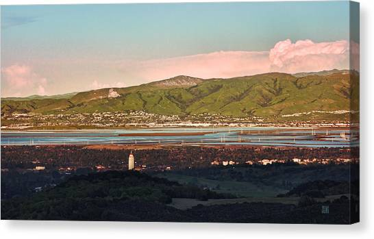 South Bay With Stanford Canvas Print