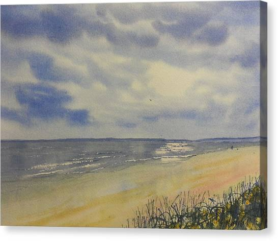South Beach From The Dunes Canvas Print
