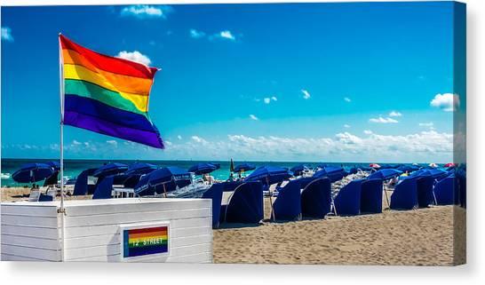 South Beach Pride Canvas Print