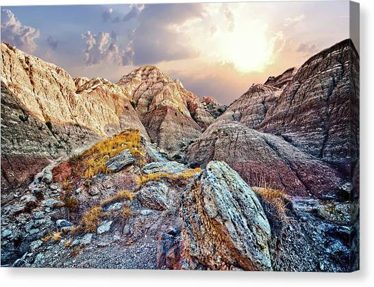 South Dakota 2 Canvas Print