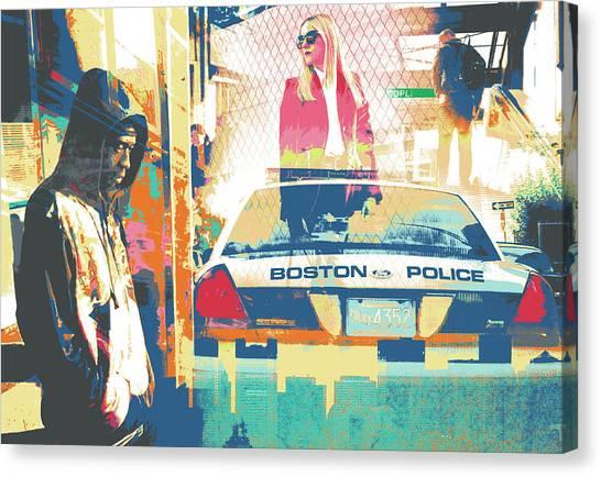 South End Canvas Print by Shay Culligan