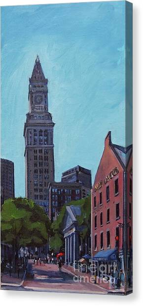 South Market Boston Canvas Print