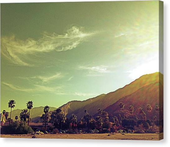 South Palm Springs California Canvas Print