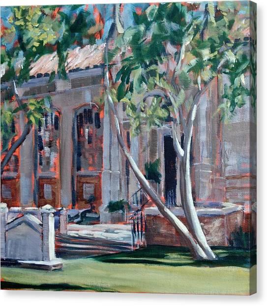 South Pasadena Library Canvas Print