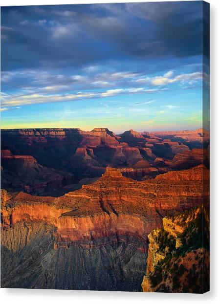 South Rim Grand Canyon Canvas Print