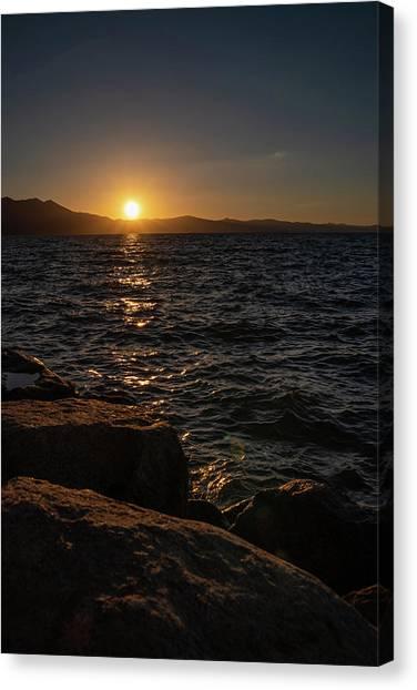 South Shore Sunset Canvas Print