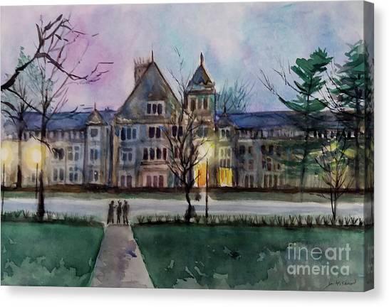 South University Avenue 2 Canvas Print