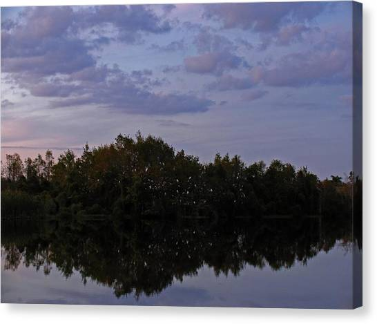 South-west Florida Sunset Canvas Print by Juergen Roth