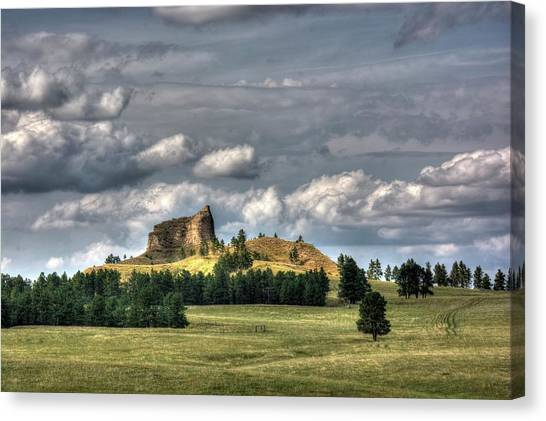 Belltower Butte Canvas Print