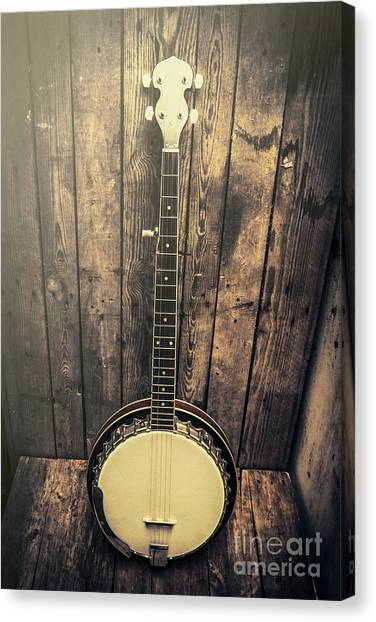 Musical Instrument Canvas Print - Southern Bluegrass Music by Jorgo Photography - Wall Art Gallery