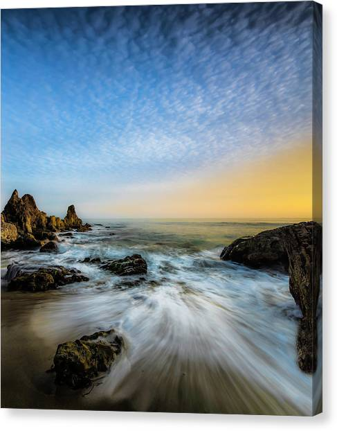 Mars Canvas Print - Southern California Sunset by Larry Marshall