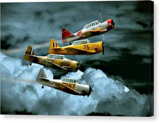 Harvard Canvas Print - Southern Knights by Steven Agius