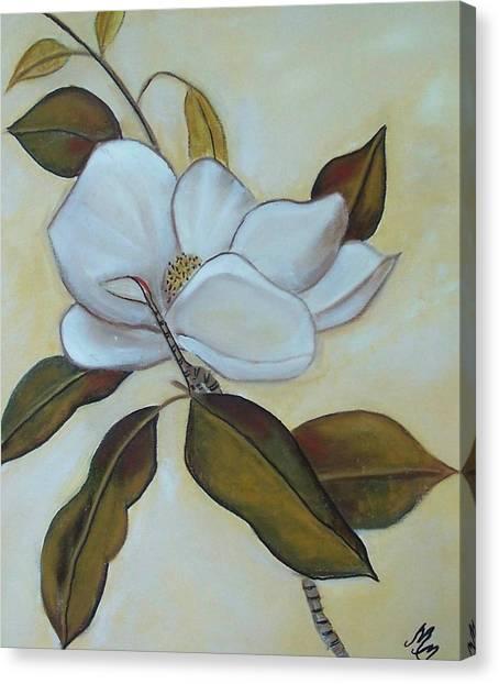 Southern Magnolia Canvas Print by Martha Mullins