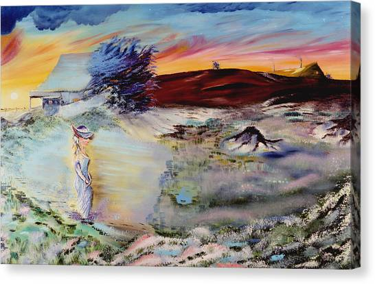 Southern Nights Canvas Print by Richard Barham